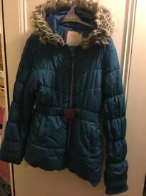 Girls winter coat age 11-12 years