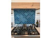 Mandarin Stone matt blue tiles
