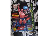 RARE WWE/ WWF WRESTLING SUPER STARS POSTER MAGAZINE JIM DUGGAN 1 COVER HAVE OTHER MAGAZINES FOR SALE