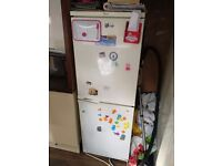 Tall fridge freezer half and half