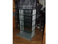 hifi stand/ unit heavy duty top quality hifi stacker excellent condition free edinburgh delivery