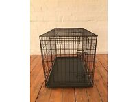 PUPPY CRATE - GIVEAWAY | used but in very good condition! (approx. 76 x 48 x 48cm)