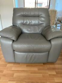 Leather Recliner Electric Chair