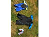 Wetsuits- adult XL and child age 8-10