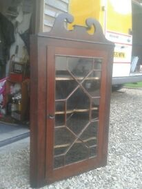 antique wall corner unit