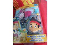 Pirate walkie talkies brand new