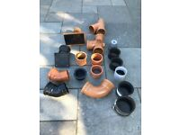 """New Assorted Drain and pipe Fittings 110mm 4"""""""