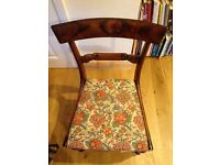 6 Antique Rosewood Dining Chairs
