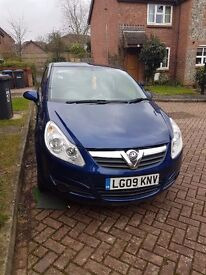 FOR SALE VAUXHALL CORSA ACTIVE 1.2 LITRE THREE DOOR HATCHBACK Ideal first car!