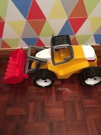 Kids toys, large toy dumper truck
