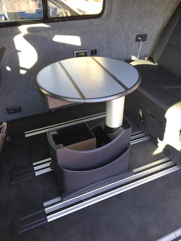VW transporter caravelle folding table