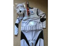 Storm Trooper Costume - Kids (age 7-8)