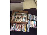 Joblot of 118 DVDs