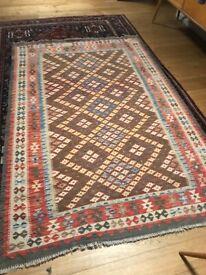 Large kilim rug