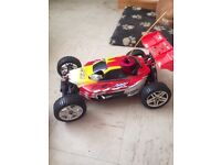1/8 rc kit car fully workin