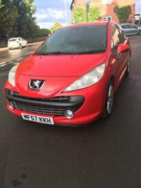 REDUCED Peugeot 207 M-Play 1.4L