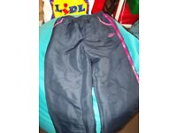 girls lonsdale tracksuit bottoms