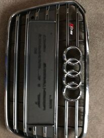 audi s6 oem grill 2012 onwards mint condition