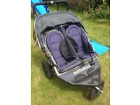 Out & about nipper double buggy twin pram v3 £400 new