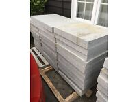 Paving slabs for sale @12-15 m2 , 600/600/08 @3 pallets collection only , very cheap 07882131235