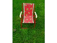 Used, Childs garden chair for sale  Oxfordshire