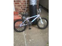 Two bmx style bike 20 inch wheels