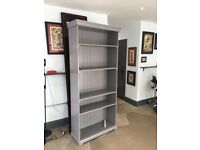 Ikea Liatorp Bookcase Grey Nearly New