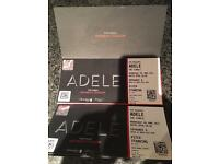 2 STANDING ADELE TICKETS 28 JUNE 2017 WEMBLEY