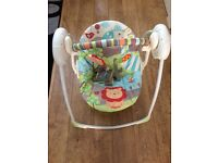 Baby swinging seat chair Bright Starts