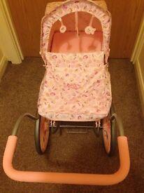 Baby annabel vintage dolls pram