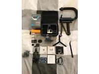 Gopro hero4 silver with lots of extras