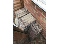 Spare roof tiles (not new but very useable)