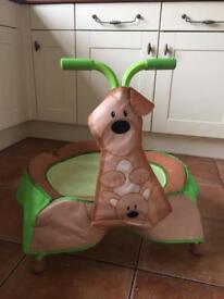 Toddler giraffe trampoline