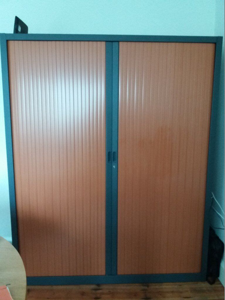 Fine Large Double Sliding Door Tambour Office Storage Cabinet In Sheffield South Yorkshire Gumtree Best Image Libraries Weasiibadanjobscom