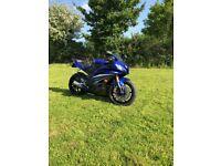 2007 Yamaha R6, 600cc sports bike, only 5100 miles