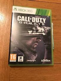 Call of duty ghosts Xbox 360 game