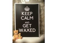 Body Waxing Half Price Tuesday