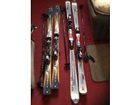 Practically New Skis