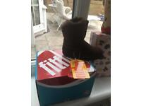 Fit Flop Childrens sheepskin boots brand new with tags