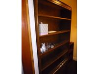 Bookcase type Oak Unit.