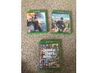 Xbox one games *Read*