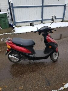 49cc Moped LOW MILEAGE!