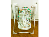 Graco baby swing with two speeds