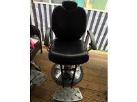 Barbers/salon chairs.