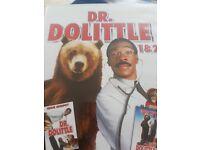 Dr. Doolittle 1 & 2 DVD