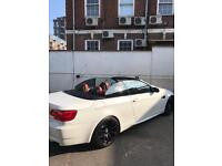 BMW M3 2013 for hire in London convertible, car rental in london
