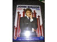 brand new John bishop dvd