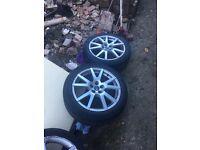 Octavia VRS wheels 5x100 seat/fabia/vag