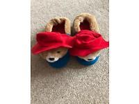 M&S Paddington Slippers, size 11 children