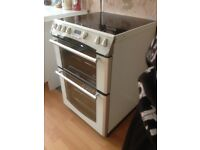 Belling Format Double Oven with Ceramic Hob